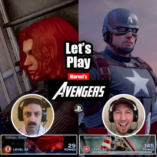 Let's play Marvel's Avengers - PlayStation - Nate and Adam
